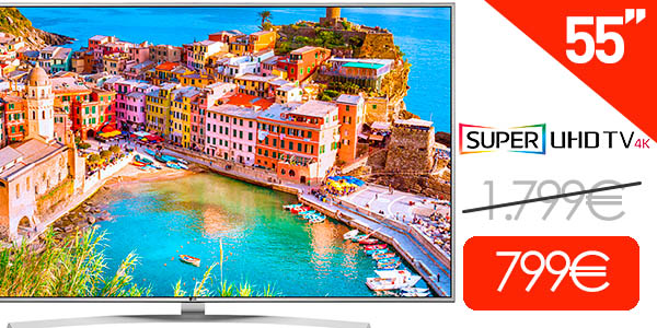 Smart TV LG 55UH770V de 55'' Super UHD 4K