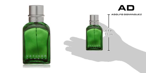 vaporizador Vetiver para hombre de 120 ml de Adolfo Dominguez barato en Amazon España