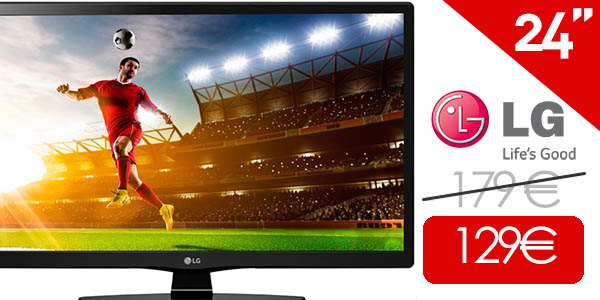 Televisión LED LG 24MT48DF HDReady