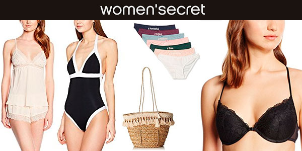 Rebajas en Women'secret en Amazon Moda hasta el 2 de mayo