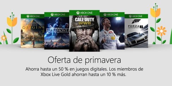 Rebajas primavera Xbox