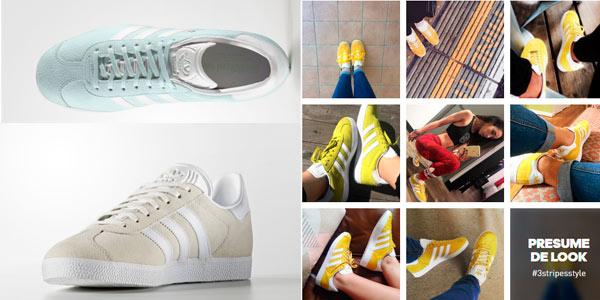 Zapatillas Adidas Gazelle con descuento adicional