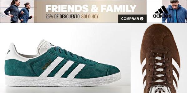 Zapatillas Adidas Gazelle rebajadas en la web de Adidas con cupón FRIENDS