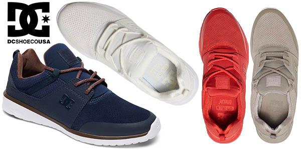 e3a6f47b4de Chollo Zapatillas DC Shoes Heathrow Prestige para hombre por sólo 32 ...