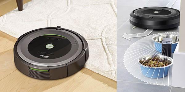 aspirador inteligente Roomba 681 con sensores acústicos y Virtual Wall