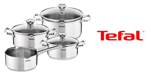 Batería de cocina Tefal Duetto de 7 piezas rebajada en Oferta Flash de Amazon