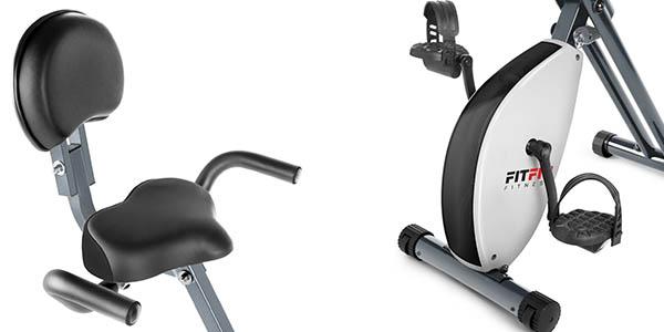 bicicleta Fitfiu estática con pantalla LCD y gran relación calidad-precio