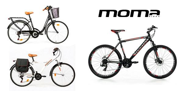 Bicicletas Moma para paseo o montaña rebajadas en Amazon