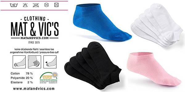 calcetines tobilleros unisex colores relación calidad-precio brutal