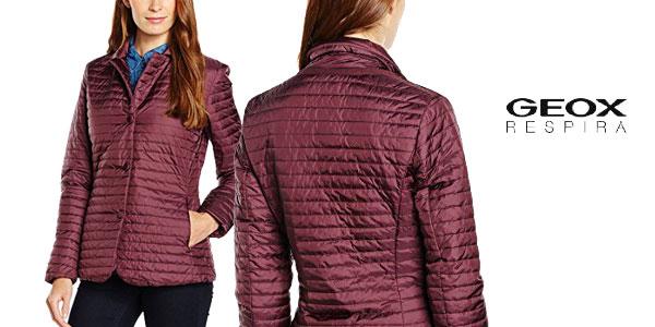 100% autentico c0a34 b6d24 Chollazo chaqueta para mujer Geox desde 56,70€ con envío ...