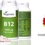 Bote 365 comprimidos Vitamina B12 Vegavero barato en Amazon