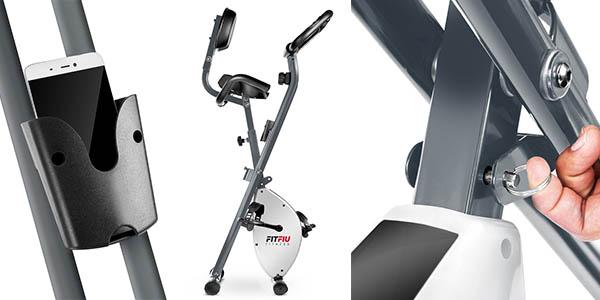 Fitfiu Best X-2000 bicicleta estática con pantalla para visualizar las marcas a precio de chollo