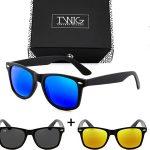 Caja de 3 gafas de sol Wayfarer de Twig Concept Milano chollo en eBay
