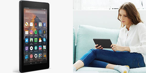 Tablet Kindle Fire 7 barata