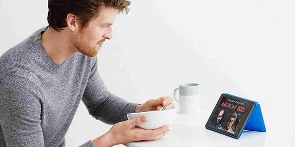 Tablet Fire 7 con 8GB o 16GB de almacenamiento