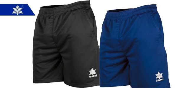 pantalones deportivos cortos para hombre Luanvi Walk chollo en Amazon
