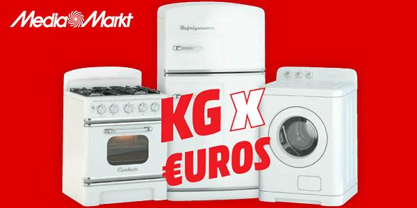 Kilos por Euros Media Markt 2018