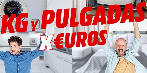 Plan Media Markt Kilos y Pulgadas x euros