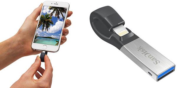 SanDisk iXpand de 32 GB para iPhone y iPad