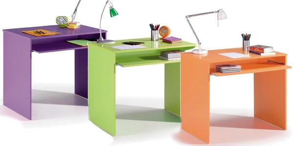 Chollo mesa de ordenador juvenil i joy en varios colores for Mesas escritorio baratas
