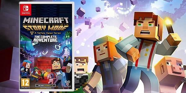 La Primera Temporada De Minecraft Story Mode Llega A Nintendo