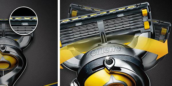 pack Gillette Fusion ProShield lubricante cabezal giratorio