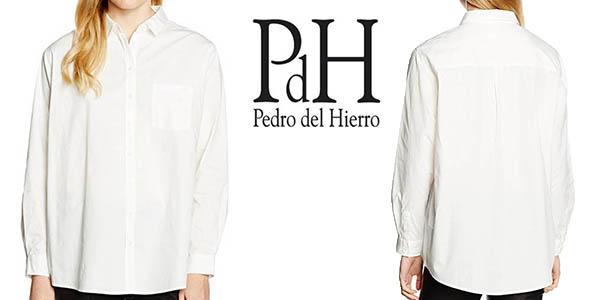 Camisa Pedro del Hierro Camisa Oversize para mujer por sólo 21 c8895a64879
