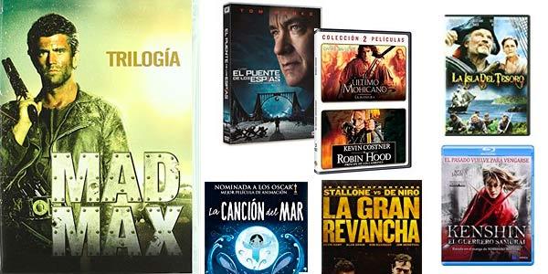 Películas y series en DVD y Blu-ray rebajadas en packs descuento en Amazon