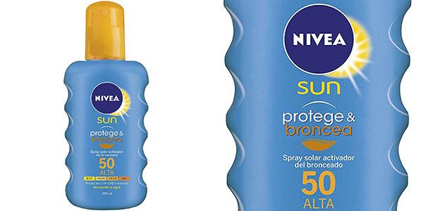 Spray Nivea Protege & Broncea FP 50