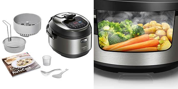 Olla el ctrica bosch autocook muc88b68es con cocci n por for Robot de cocina autocook