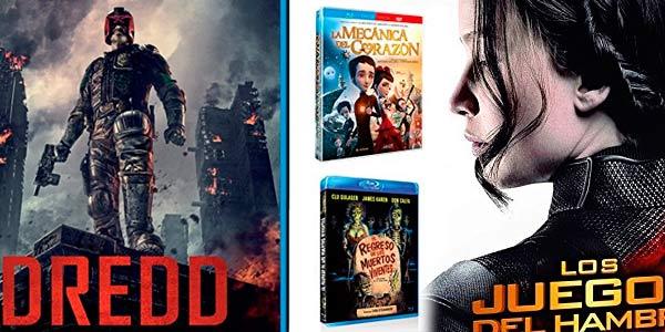 Selección de películas y series DVD y Blu-ray en promoción en Amazon