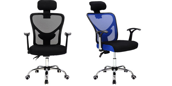 Chollazo silla de oficina de dise o ergon mico con for Sillas ergonomicas para pc