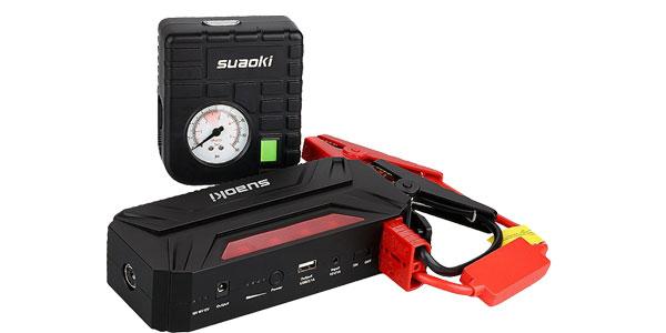 Arrancador de batería Suaoki T3 Plus barato en Amazon