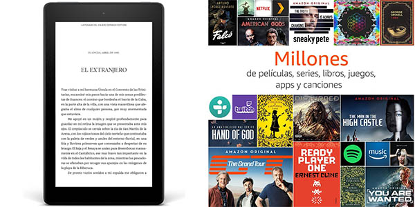 Tablet Fire HD 8 con Amazon Prime Video