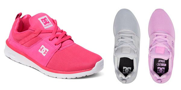 188e6ac3b4f Zapatillas DC Shoes Heathrow en colores vivos rebajadas en eBay. Estas  bonitas Hearthrow para mujer ...