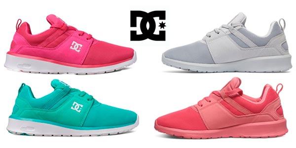 d04a5f467f1 Zapatillas DC Shoes Heathrow para mujer en varios colores rebajadas en eBay