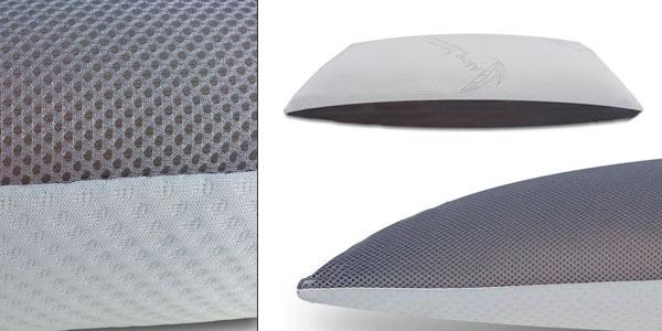 Almohada viscoelástica de copos 3D anti humedad rebajada en eBay