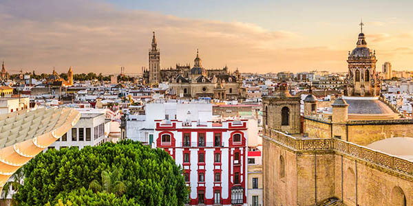 apartamento en Sevilla con crucero por el Guadalquivir