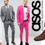 Ofertas en trajes, camisas y zapatos Asos
