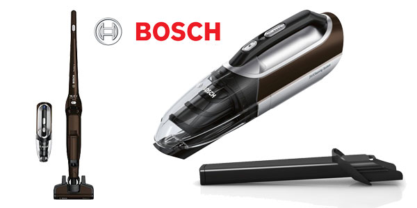 Aspirador sin bolsa recargable Bosch BBH21622 Readyy'y chollo en Amazon