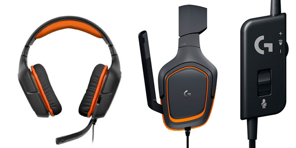 Auriculares de gaming Logitech G231 Prodigy al mejor precio en Amazon