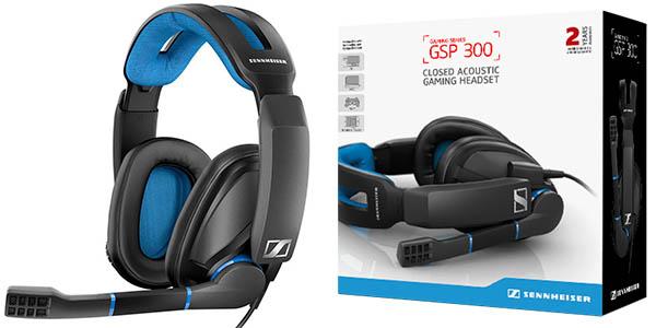 Auriculares gaming Sennheiser GSP 300