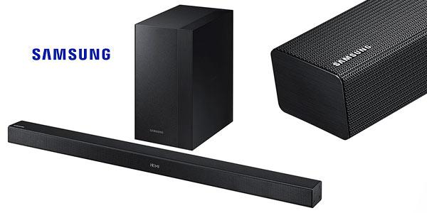 Barra de sonido Samsung HWK450 Bluetooth rebajada en Amazon
