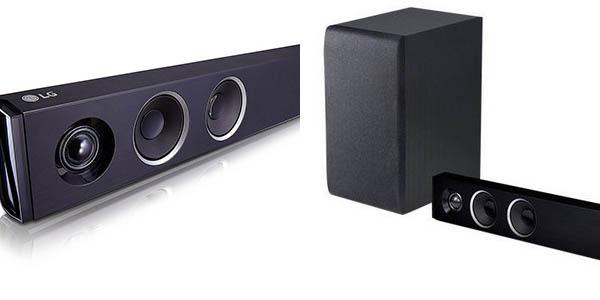 Barra de sonido LG SJ3 con bluetooth