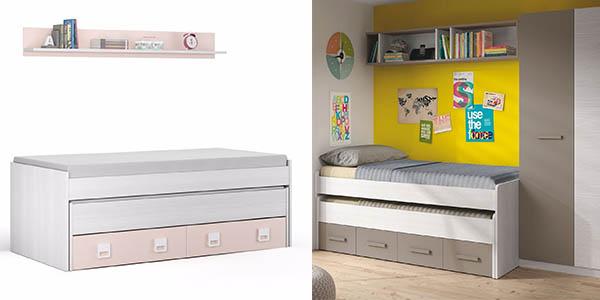 cama nido funcional con brillante relación calidad-precio