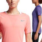 Chollo camiseta manga corta para mujer running Zonal Cooling Relay en Nike Store