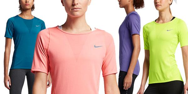 Cooling Camiseta Nike De Manga Zonal Running Relay Para Corta Sq4qR