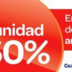 2ª unidad 50% en Carrefour