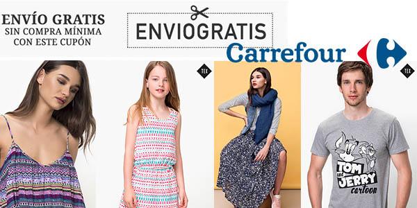 Carrefour envío gratis en Moda junio 2017