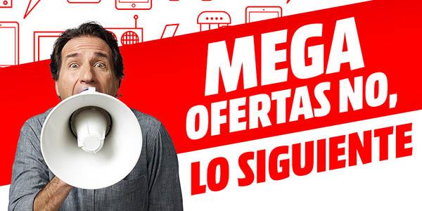 """Cátalogo Media Markt """"Mega Ofertas no, lo siguiente"""""""